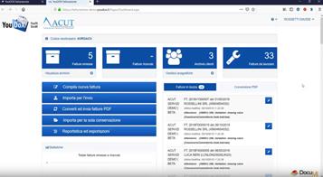 Sistema integrato ACUT - Youdox per la fatturazione elettronica